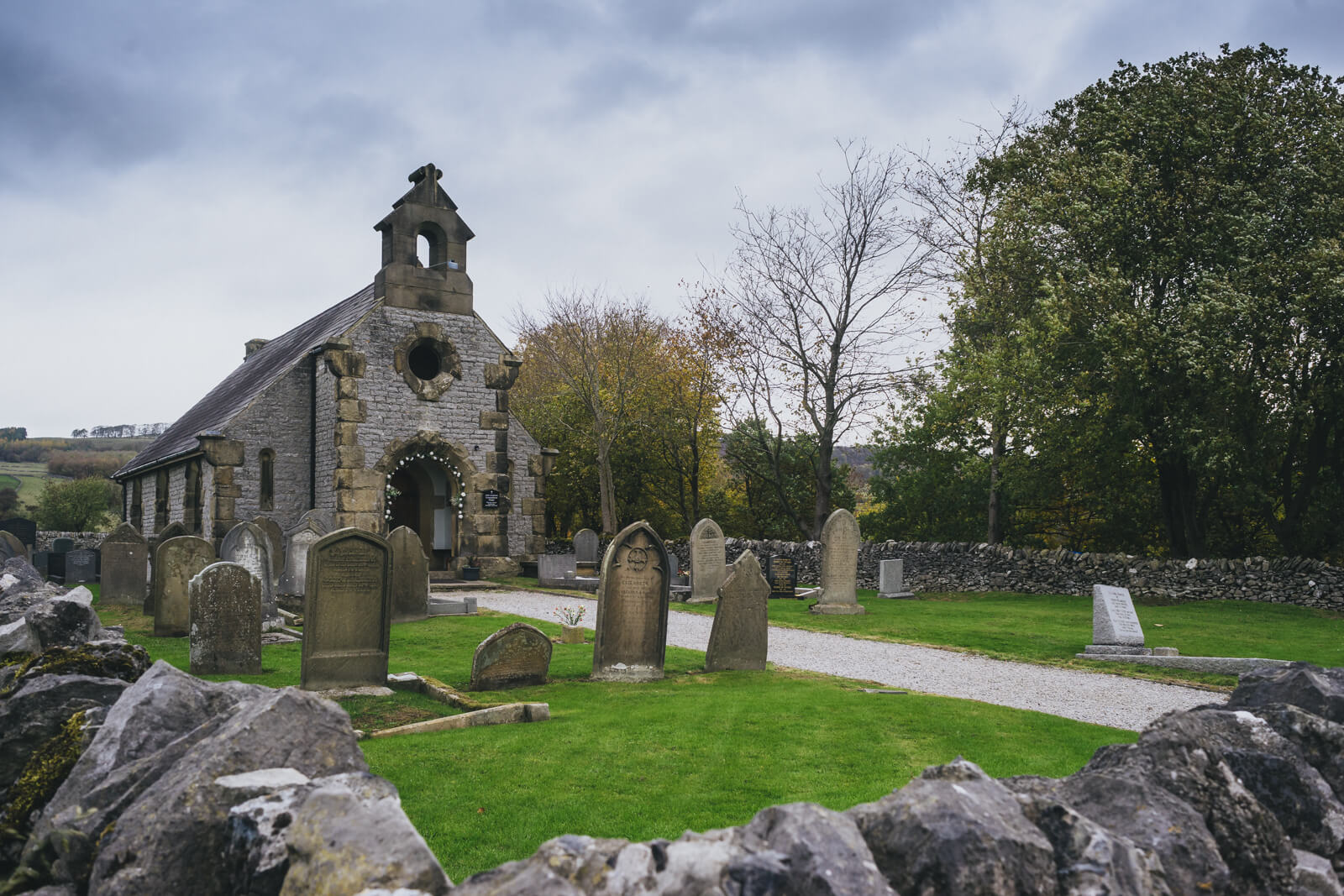 Little Longstone Chapel, Monsal Head, derbyshire